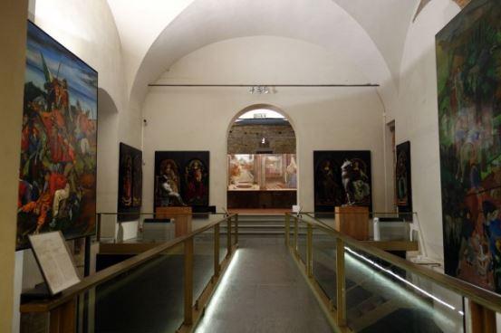 Сан-Пьер-Скераджо - Выставочный зал