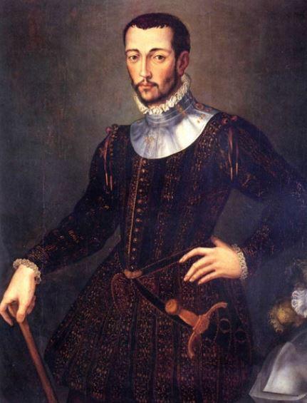 Основатель Галереии Уффици Франческо I Медичи